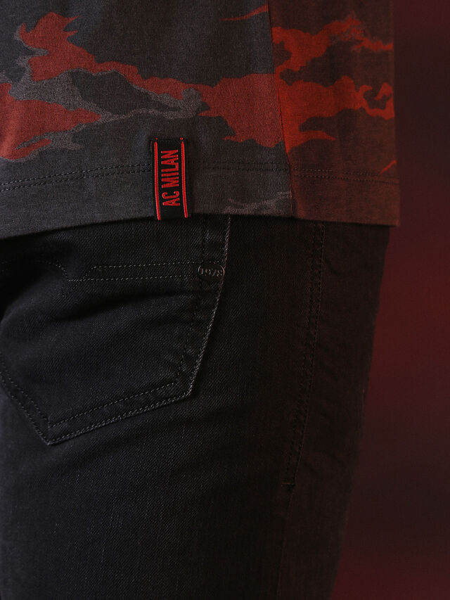 Diesel - DVL-TSHIRT-CAMU-SPECIAL COLLECTION, Red/Black - T-Shirts - Image 6