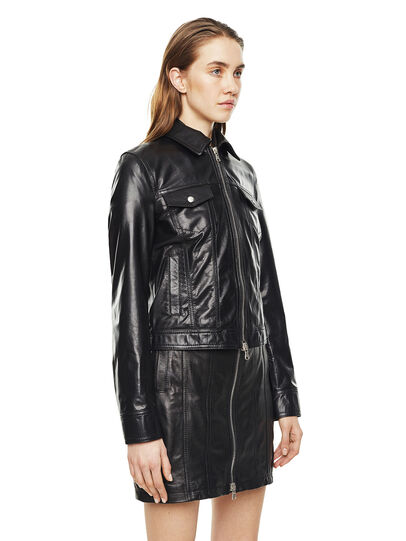 Diesel - LUCYLLE,  - Leather jackets - Image 5