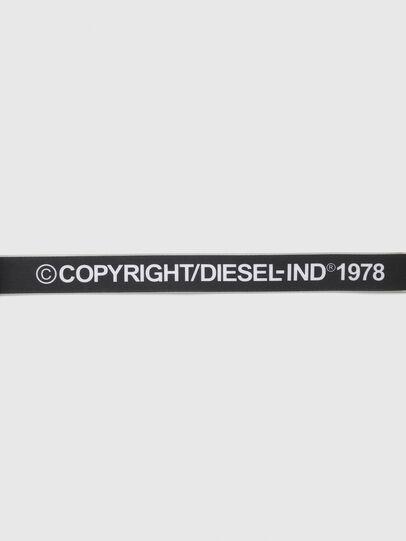 Diesel - B-TAPE, Black/White - Belts - Image 4