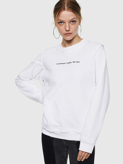 Diesel - F-LYANY-F, White - Sweaters - Image 1