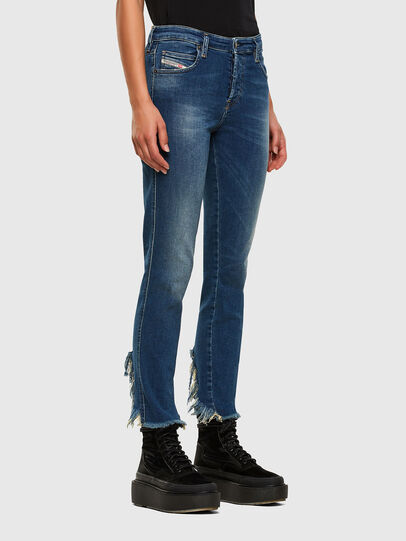 Diesel - Babhila-Zip 009EZ, Medium blue - Jeans - Image 5