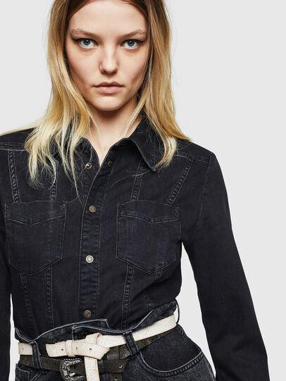 Diesel - DE-DARI, Black/Dark grey - Dresses - Image 3