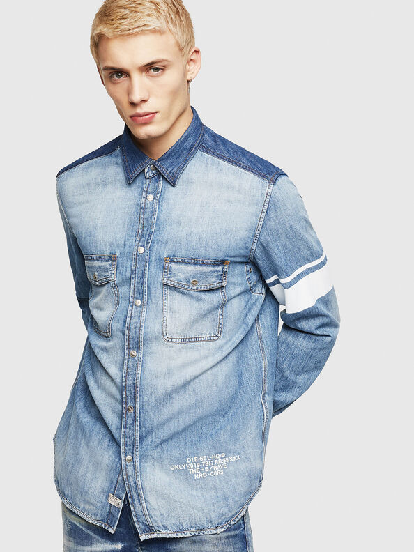 D-MILLER,  - Denim Shirts