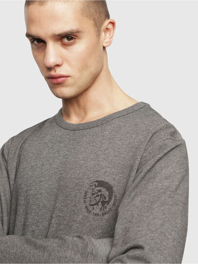 Diesel - UMLT-WILLY, Grey Melange - Sweaters - Image 3