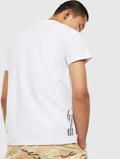 Diesel - T-HOVER, White - T-Shirts - Image 2