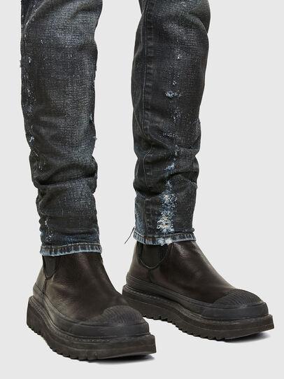 Diesel - D-Strukt 009JQ, Dark Blue - Jeans - Image 5