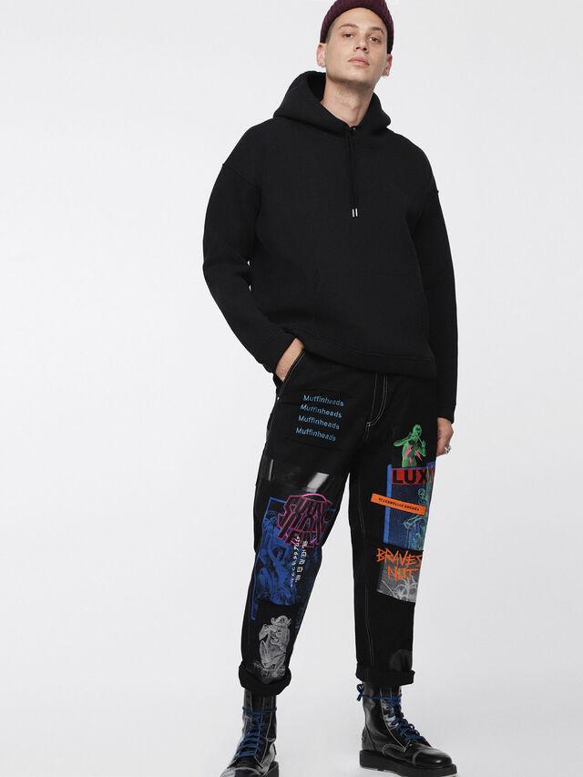 Diesel - S-GORDON, Black - Sweaters - Image 1