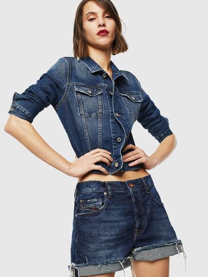 Diesel - DE-LOWY, Medium blue - Shorts - Image 4
