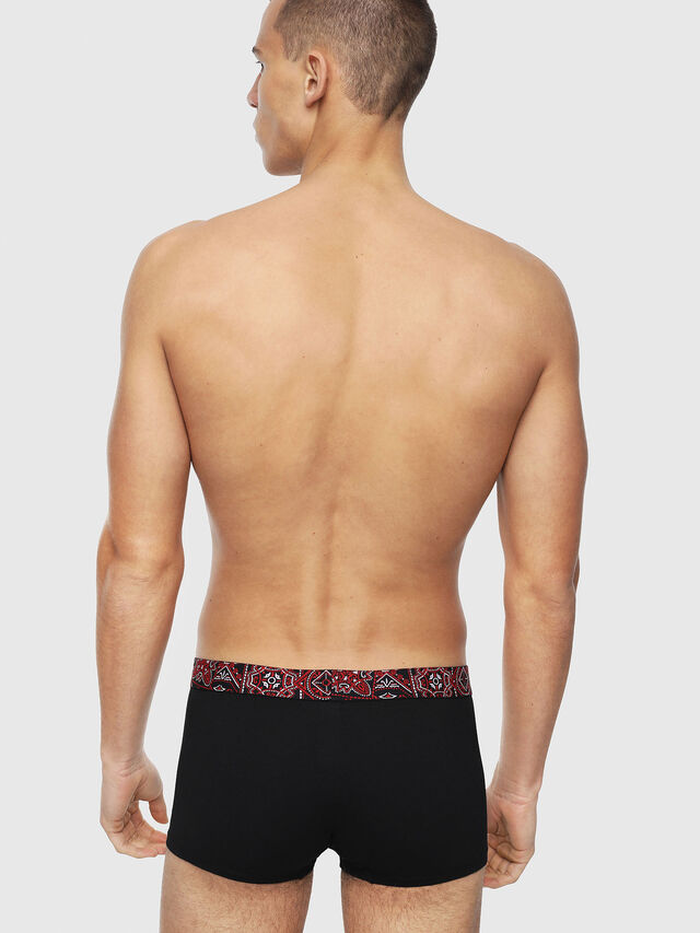 Diesel - UMBX-DAMIENTHREEPACK, Black/Red - Trunks - Image 3
