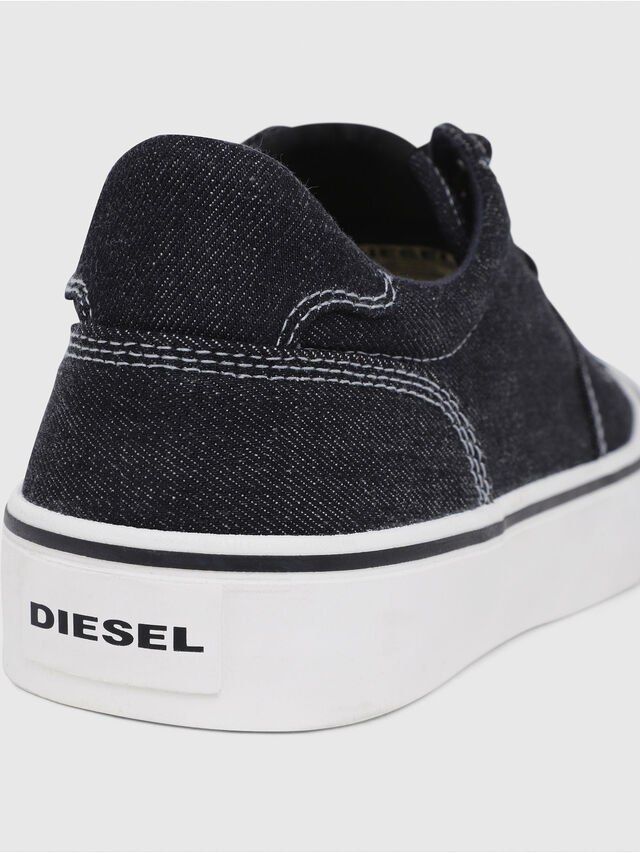 Diesel - S-FLIP LOW, Blue Jeans - Sneakers - Image 4