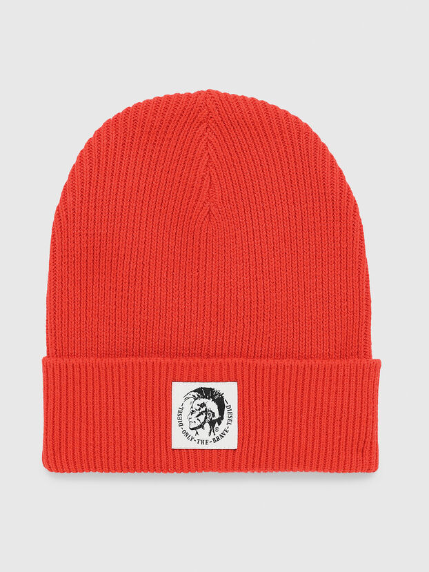 K-CODER, Red - Knit caps