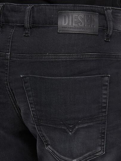 Diesel - KROOLEY JoggJeans® 009KD, Black/Dark grey - Jeans - Image 4