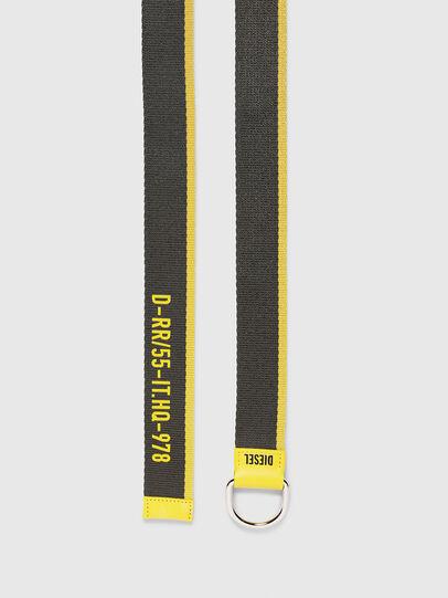 Diesel - B-TAPE55, Black/Yellow - Belts - Image 3