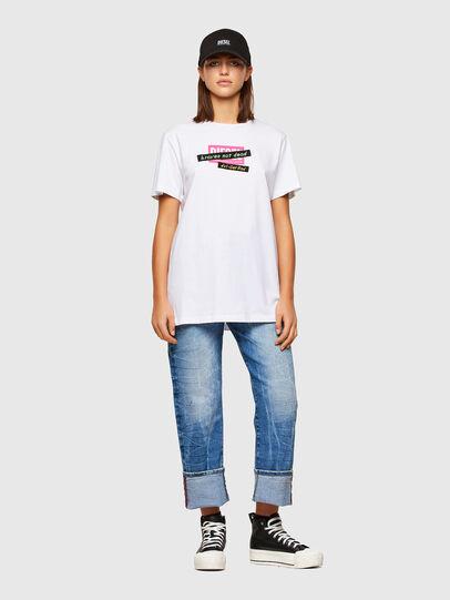 Diesel - T-DARIA-R2, White - T-Shirts - Image 4