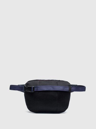 Diesel - LOKI PAT, Blue - Crossbody Bags - Image 2