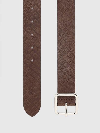 Diesel - B-OMNI, Dark Brown - Belts - Image 3