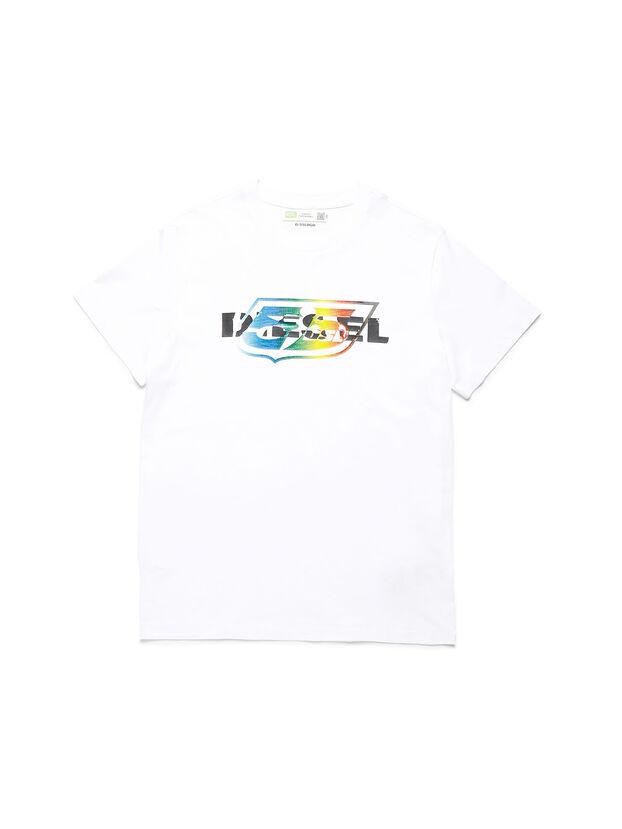 D-55LOGO, White - T-Shirts