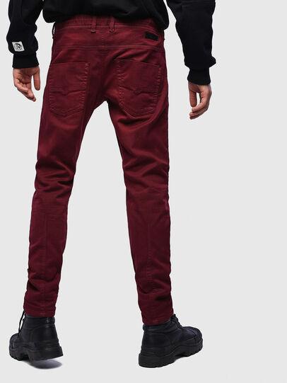 Diesel - Krooley JoggJeans 0670M, Bordeaux - Jeans - Image 2