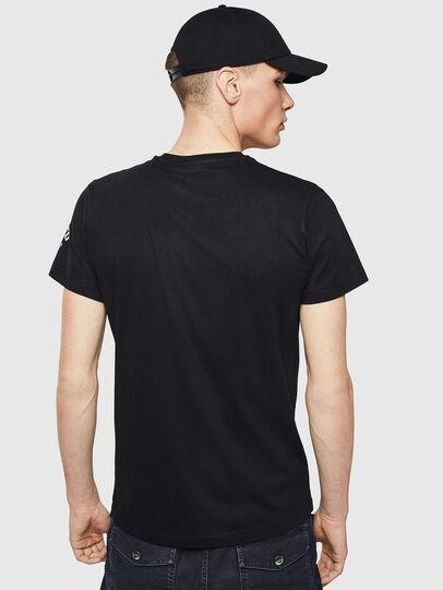 Diesel - T-DIEGO-S3, Black - T-Shirts - Image 2