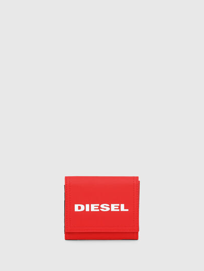 Diesel - YOSHINO LOOP, Fire Red - Small Wallets - Image 1