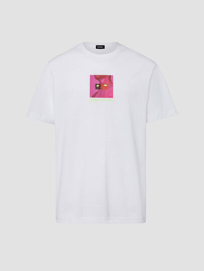 Diesel - T-JUST-X64, White - T-Shirts - Image 1
