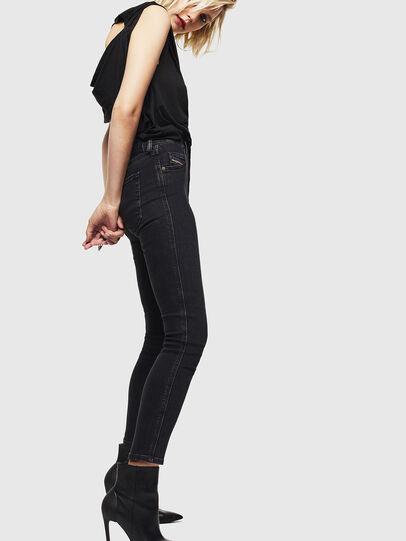 Diesel - Babhila 0870G, Black/Dark grey - Jeans - Image 5