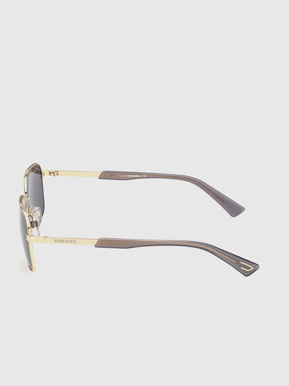 Diesel - DL0354, Black/Gold - Sunglasses - Image 3