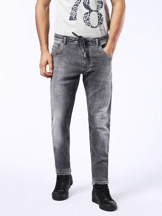 KROOLEY LONG JOGGJEANS 0855B, Grey jeans