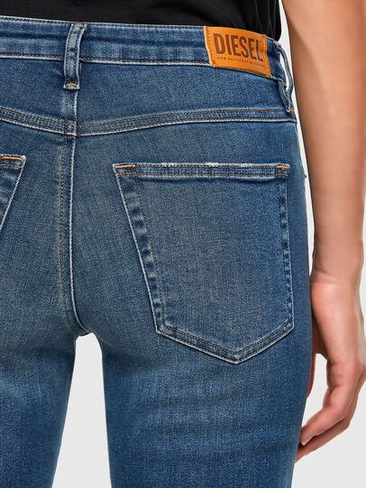 Diesel - Babhila-Zip 009EZ, Medium blue - Jeans - Image 3