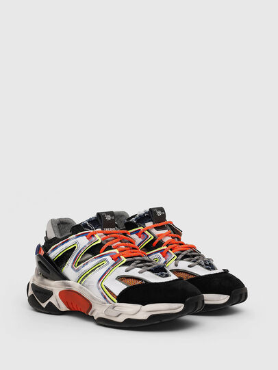 Diesel - S-KIPPER SK, White/Black - Sneakers - Image 2