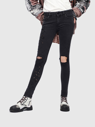 Slandy 085AW, Black/Dark grey - Jeans