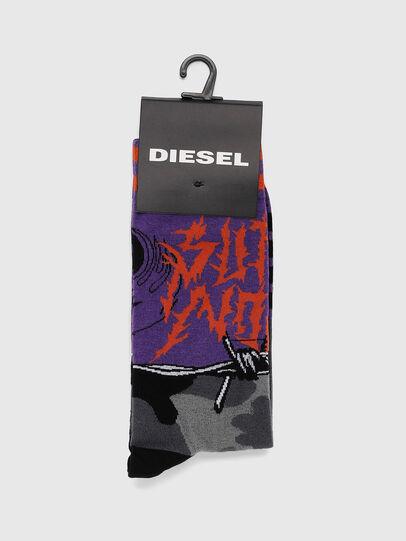 Diesel - SKM-RAY, Violet - Socks - Image 2