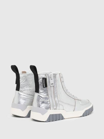 Diesel - S-RUA MC W, Silver - Sneakers - Image 3
