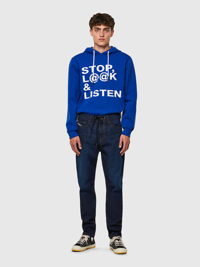 Diesel - D-VIDER JoggJeans® Z69VZ, Dark Blue - Jeans - Image 5