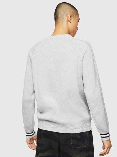 Diesel - K-BOX, Light Grey - Knitwear - Image 2