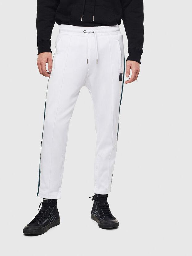 P-YEGOX, White/Green - Pants