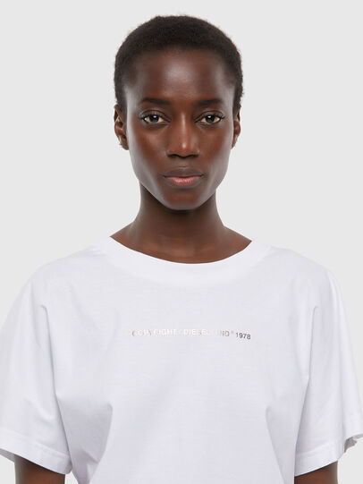 Diesel - T-SLOWLY, White - T-Shirts - Image 3