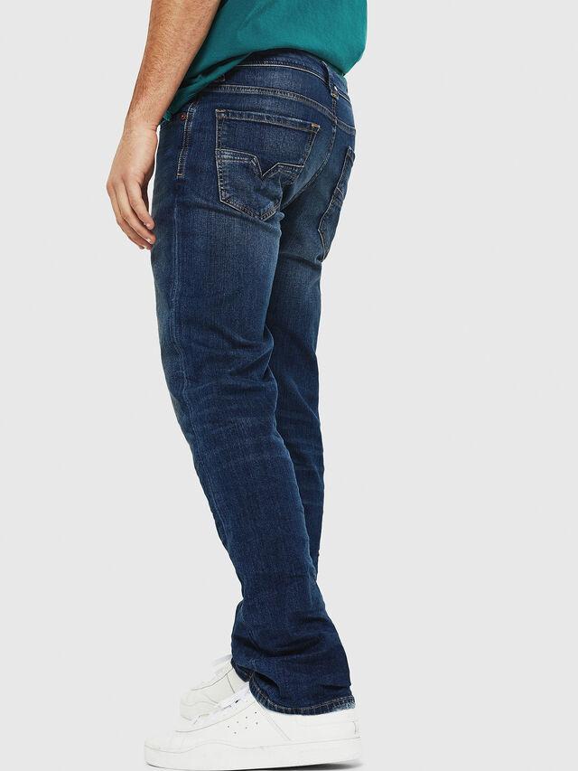 Diesel - Larkee 087AW, Dark Blue - Jeans - Image 2