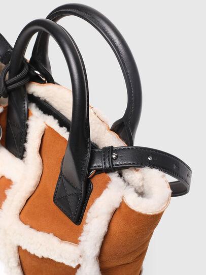 Diesel - DHALIA XS, Brown - Satchels and Handbags - Image 6
