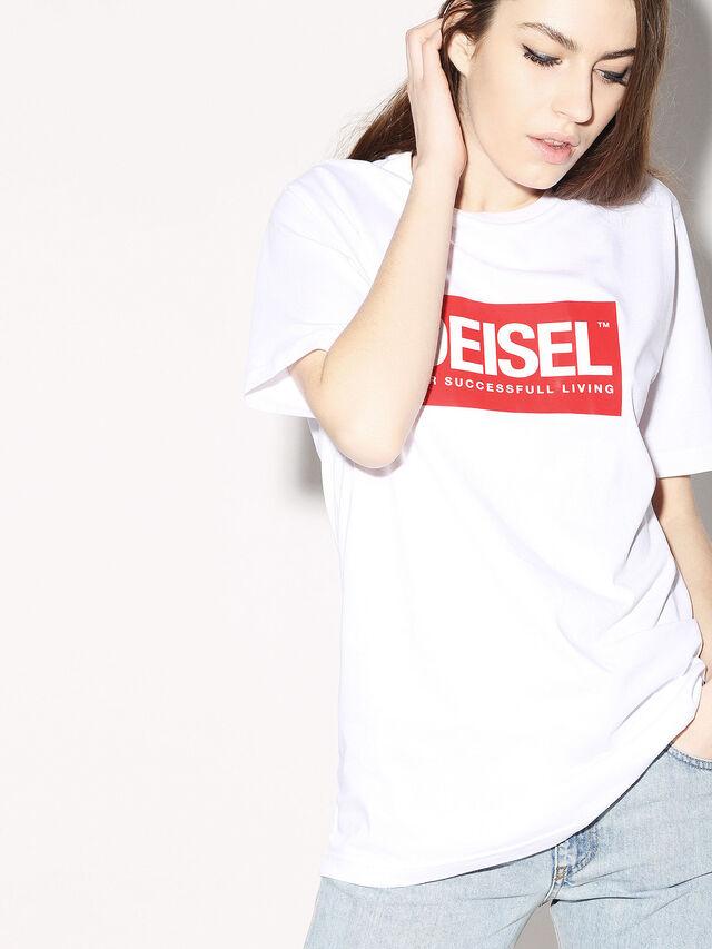 Diesel - DEIS-JUST, White - T-Shirts - Image 6