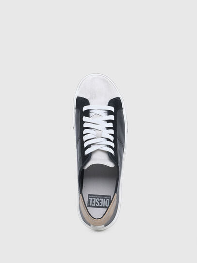 Diesel - S-MYDORI LC, Black/Beige - Sneakers - Image 4