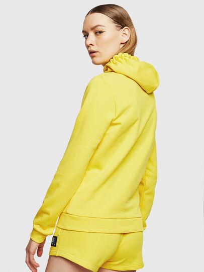 Diesel - UFLT-BRANDALWZ, Yellow - Sweaters - Image 2