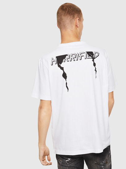 Diesel - T-JUST-J21, White - T-Shirts - Image 2