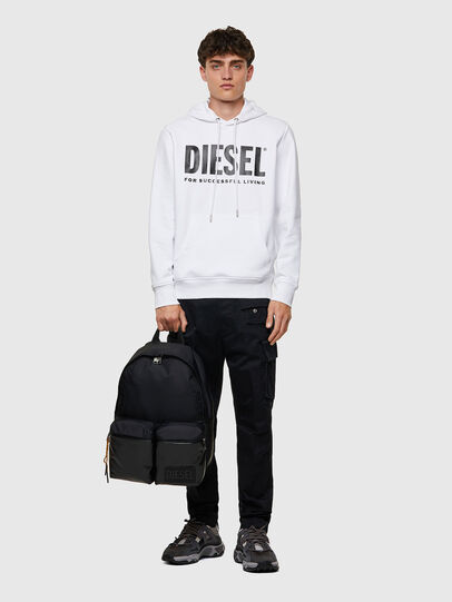 Diesel - BACKYO, Black - Backpacks - Image 6