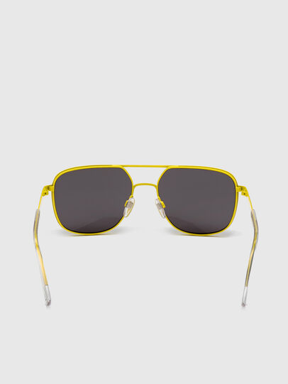 Diesel - DL0325, Black/Yellow - Sunglasses - Image 4