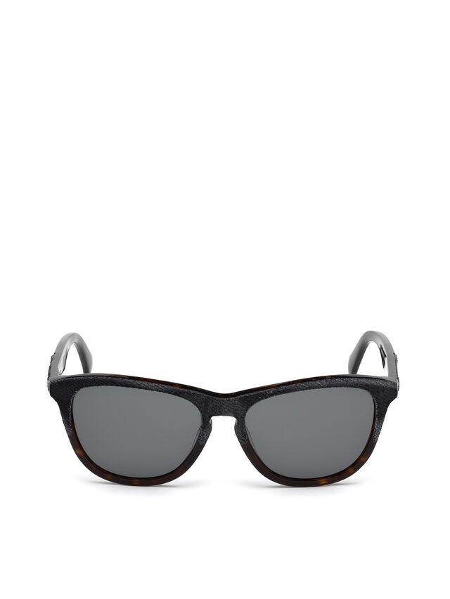 Diesel - DM0192, Dark Blue - Sunglasses - Image 1