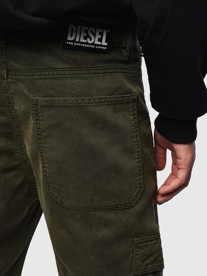 Diesel - D-Krett JoggJeans® 069LX, Military Green - Jeans - Image 3