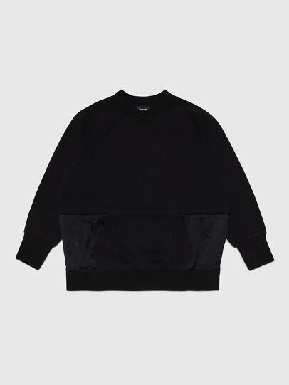 Diesel - SMIX, Black - Sweaters - Image 1