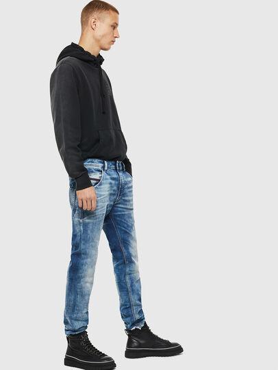 Diesel - Krooley JoggJeans 087AC, Medium blue - Jeans - Image 4