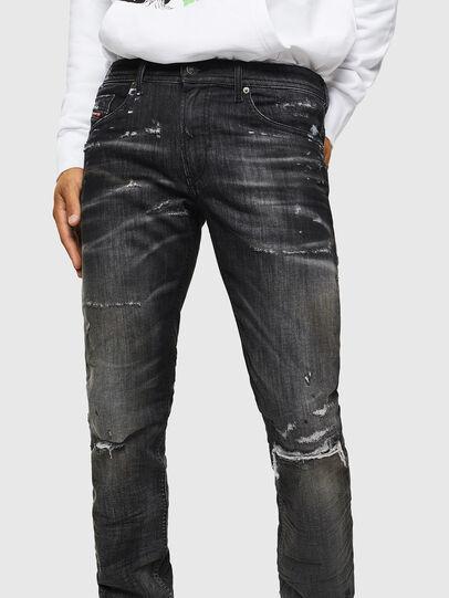 Diesel - Thommer JoggJeans 0098E, Black/Dark grey - Jeans - Image 3